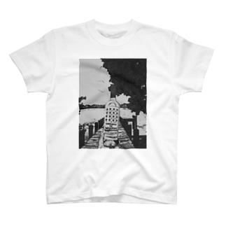 "Salida del sol""世界を股に掛けよ"" T-shirts"