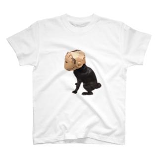 ダンボール仮面 ドッグ T-shirts