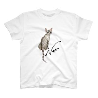 猫 Neco T-shirts