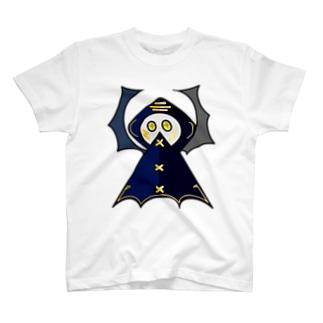 コウモリレインコート氏 T-shirts