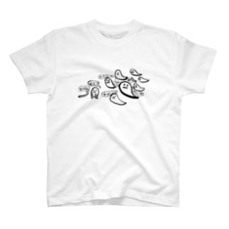 おばけもぐら T-shirts