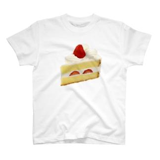 苺ショートケーキ T-shirts