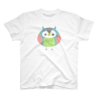 ふくろうのまるちゃん T-shirts
