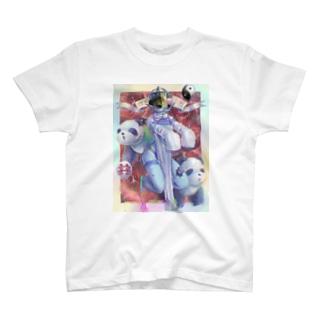 パンダキョンシーくん T-shirts