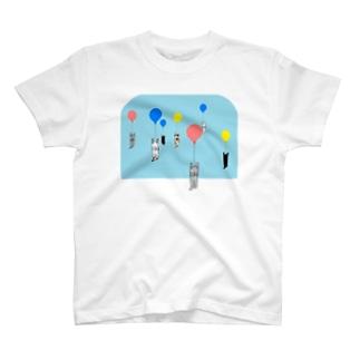 ベタですみません。風船 T-shirts