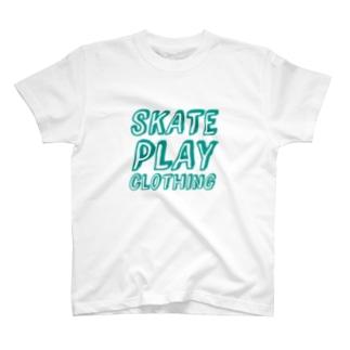 SKATE PLAY E T-shirts