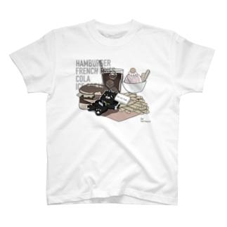 Cuiのお腹いっぱい…2 T-shirts