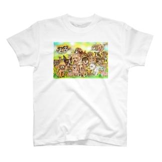 lilydogwaterのDOGLEAF 2017 スペシャル T-shirts