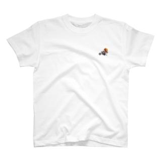 妖精トムテ バイクトムテ 前面タイプ T-shirts