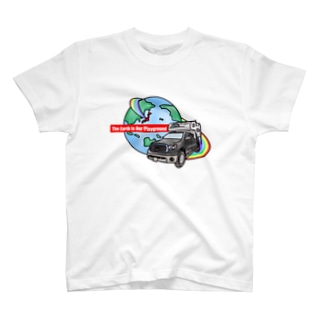 The Earth Is Our Playground  T-shirts