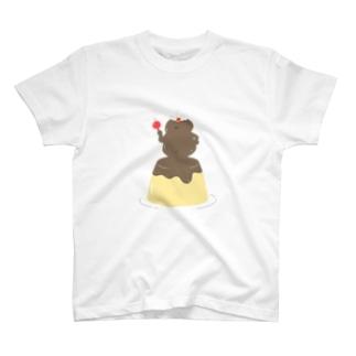 プリンの魔人 T-shirts