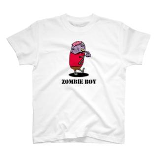 ゾンビ少年 T-shirts