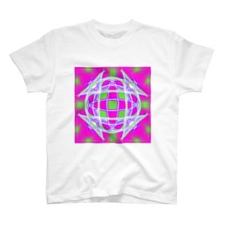 マンダラアート T-shirts