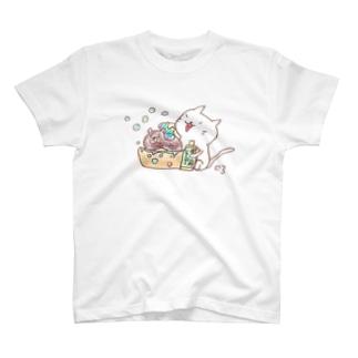 ちゃめし〜ちゃんキレイキレイ T-shirts