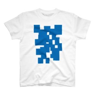 青モザ T-shirts