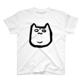 二重アゴネコ T-shirts