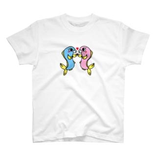 カップルウオ T-shirts