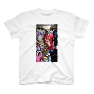 鏡音リン(鏡音鈴)中華 T-shirts