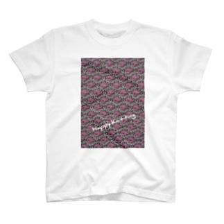 Happy Knitting アスターステッチ T-shirts