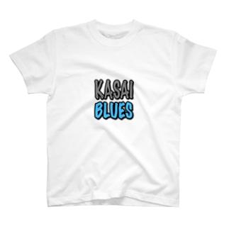 葛西ブルーズステッカー T-shirts