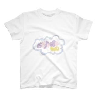 おやすみ眠子ちゃん(ロゴ) T-shirts