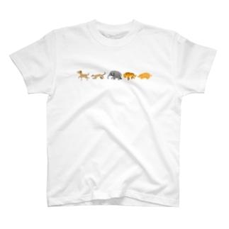hirnのドット絵動物 T-shirts