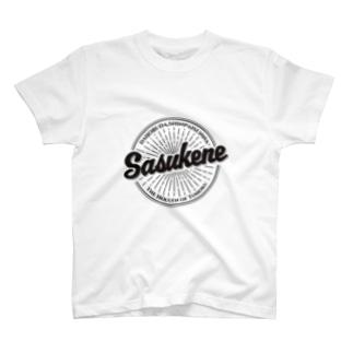 Sasukene vintage logo ver. T-shirts