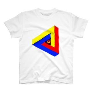 ブラックホールinペンローズの三角形-201025 T-shirts