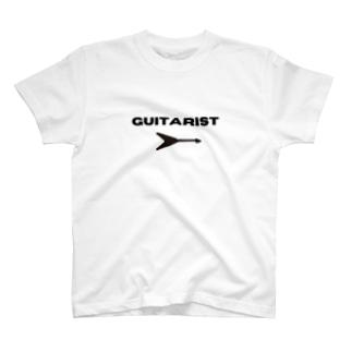 ギタリスト(フライングV) T-shirts
