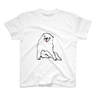 長沢芦雪の「あの犬」 T-shirts