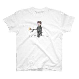 手がハサミの王子さま(星の王子さま) T-shirts