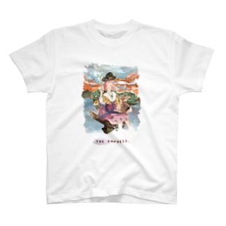 【タロットカード×埴輪】THE EMPRESS/女帝 T-shirts