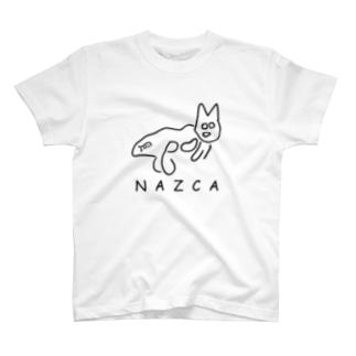 古代ネコ T-shirts