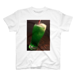 クリームソーダ T-shirts