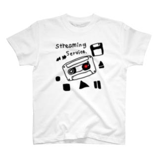 音楽ストリーミングサービスグッズ T-shirts