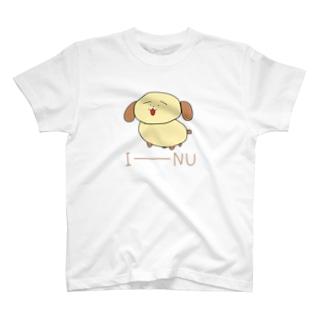 大きいいーぬカラー T-shirts
