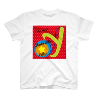 MY name start with Y for kids T-shirts