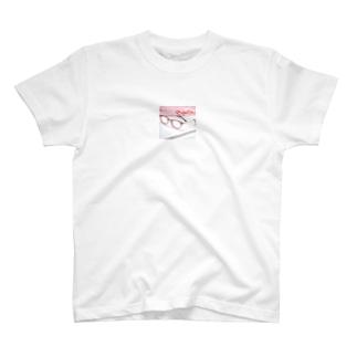 buy-case.jpの今年の推し色、メガネ 赤色 T-shirts