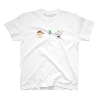 タコネギロボ T-shirts