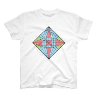 折鶴展開 T-shirts