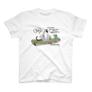 ワオキツネザルのひらき T-Shirt
