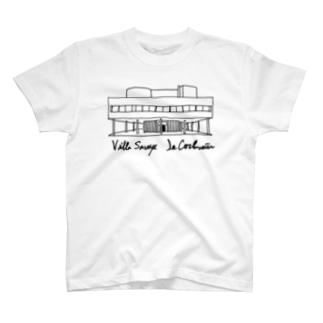 コルビジェ カーサ・サヴォア T-shirts