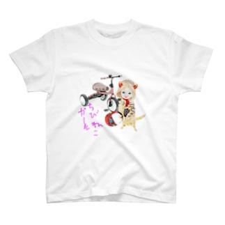 ちびねこRIDER T-shirts