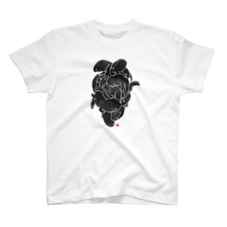 オオサンショウウオ(黒) T-shirts