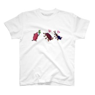 いりむさーいらんさー(文字無しver.) T-shirts
