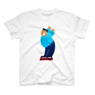 NAKONANAKOのビッグおどろい太 T-shirts