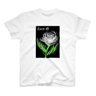 ☆☆ねこ福本舗のbara  ばら 薔薇です。 T-shirts