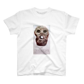人面石グッズ T-shirts