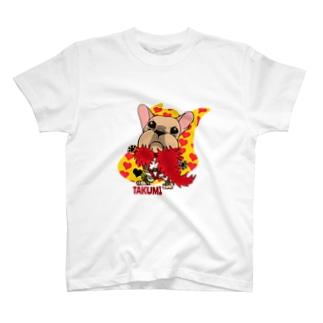 彩羽 匠 takumi irohaのわさイラスト T-Shirt