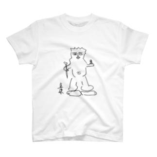仏画・毘沙門天 T-shirts